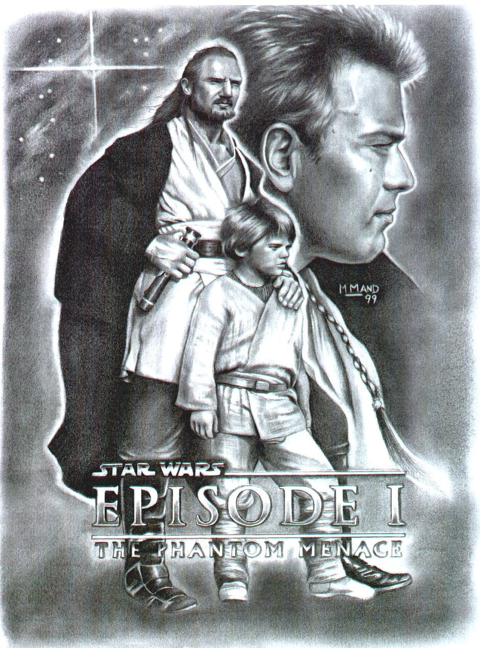 Star Wars Episode I Collage by enednoviel