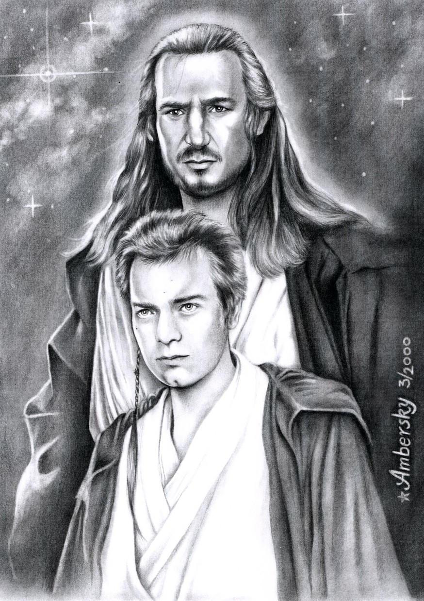 Master and Padawan by enednoviel