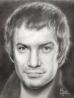 Lewis Collins by enednoviel