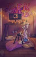 Nio nio Mah room by B-UBI