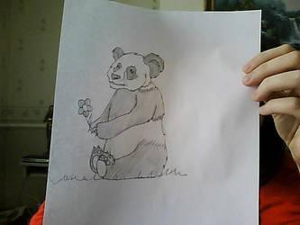Pleasant Panda by stacistasis