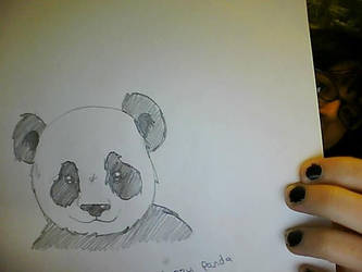 Happy Panda by stacistasis