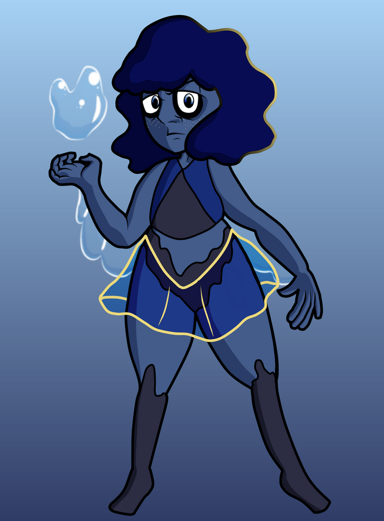 Lapis Redesign by TripodArts