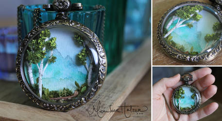 Pocket Watch Forest