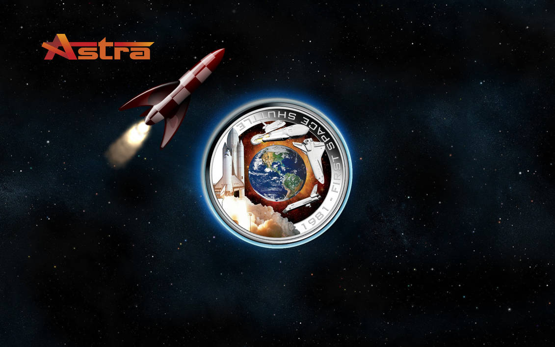 First Space Shuttle Wallpaper For Astra By Walentywalewski
