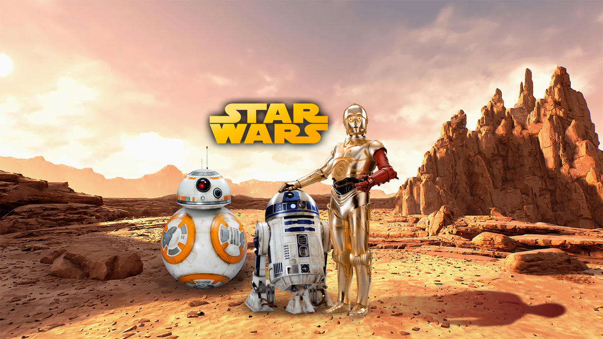 star wars droid wallpaper  Star Wars : droids, wallpaper by WalentyWalewski on DeviantArt