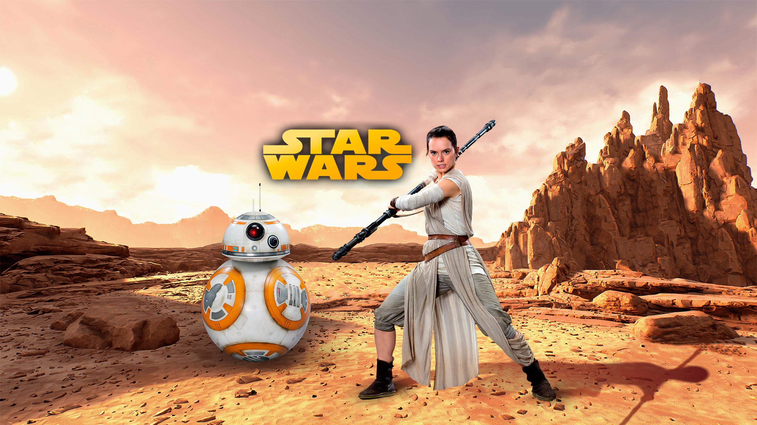 Star Wars Rey Wallpaper By Walentywalewski On Deviantart