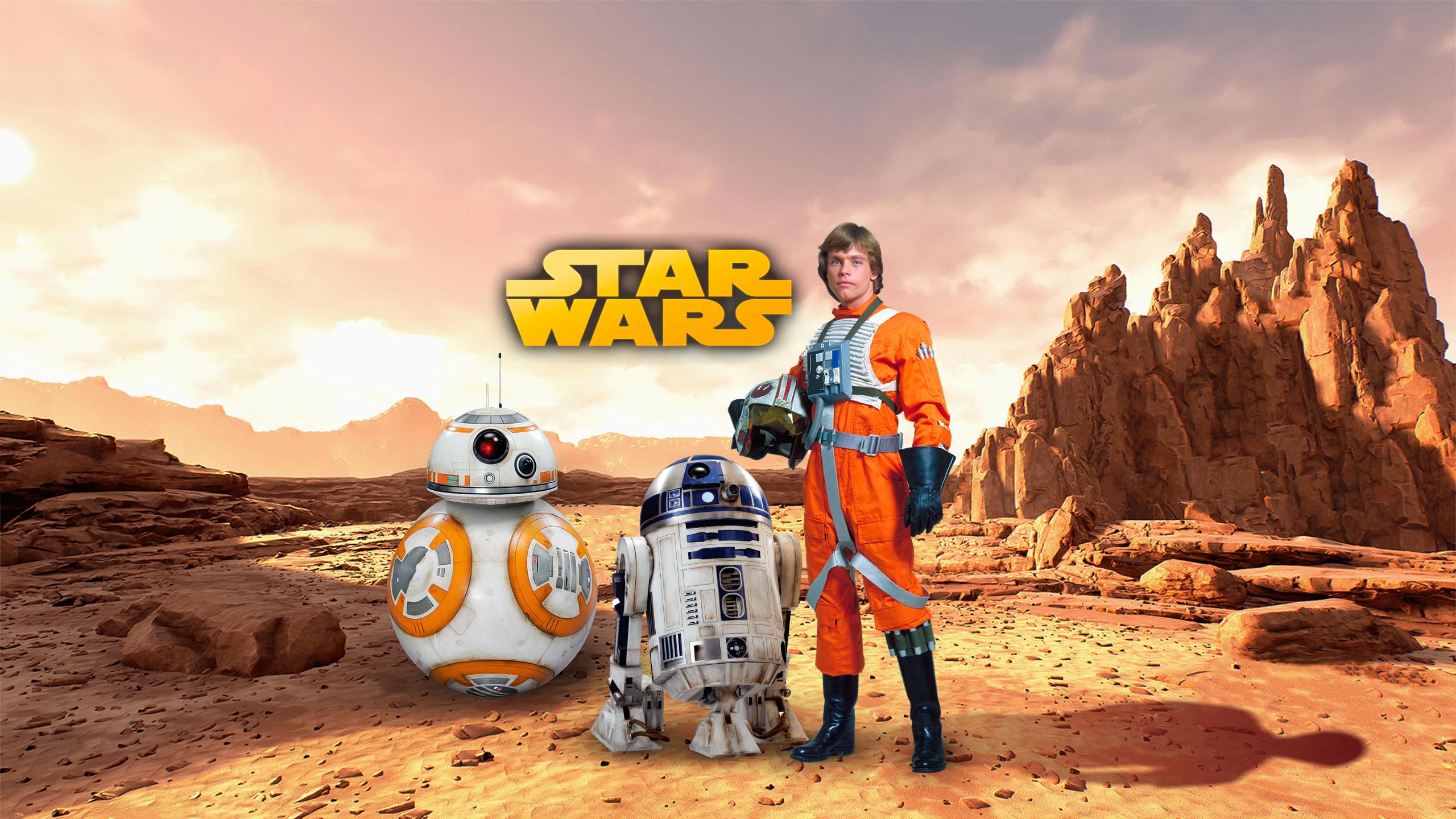 Star Wars Luke Skywalker Wallpaper By Walentywalewski On Deviantart