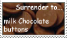 Milk chocolate buttons Stamp by ChocoholicStar