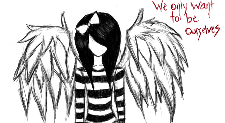DeviantArt: More Artists Like sad angel by ProsaicProtrusion