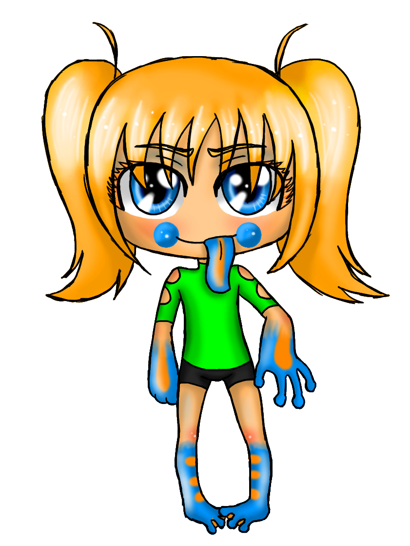 AW: Athena chibi by Ch4rm3d