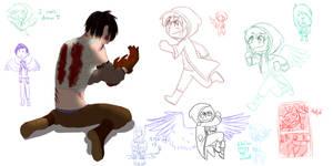 i can't draw dump