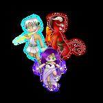 AhaG: Trinity of gods