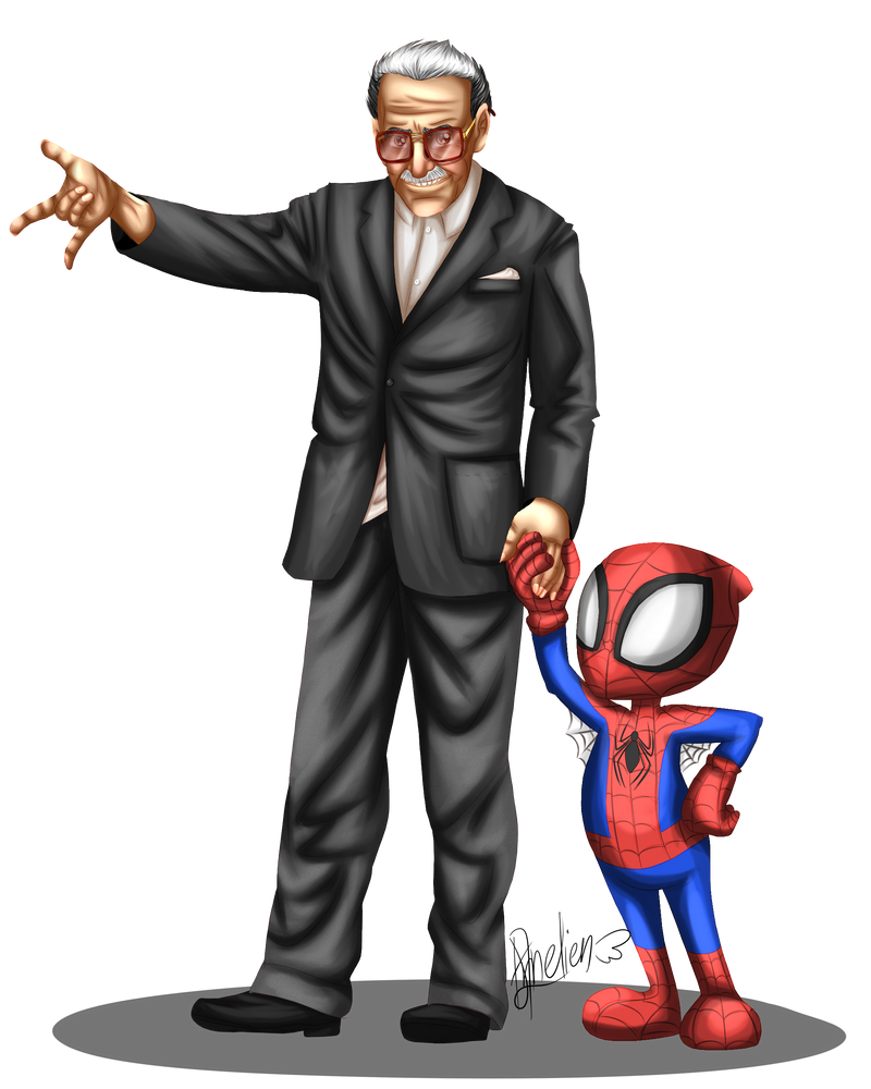 Stan Lee Tribute By Ch4rm3d On DeviantArt