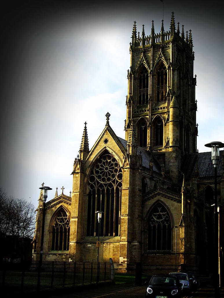 Dark Gothic Church By Desire91