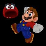 Super Mario Odyssey Mario Render