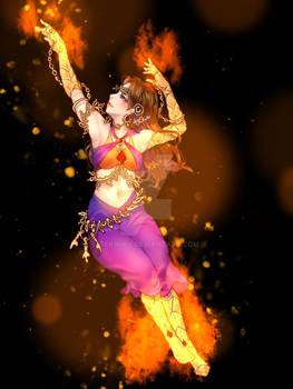 Iri the Fire Dancer