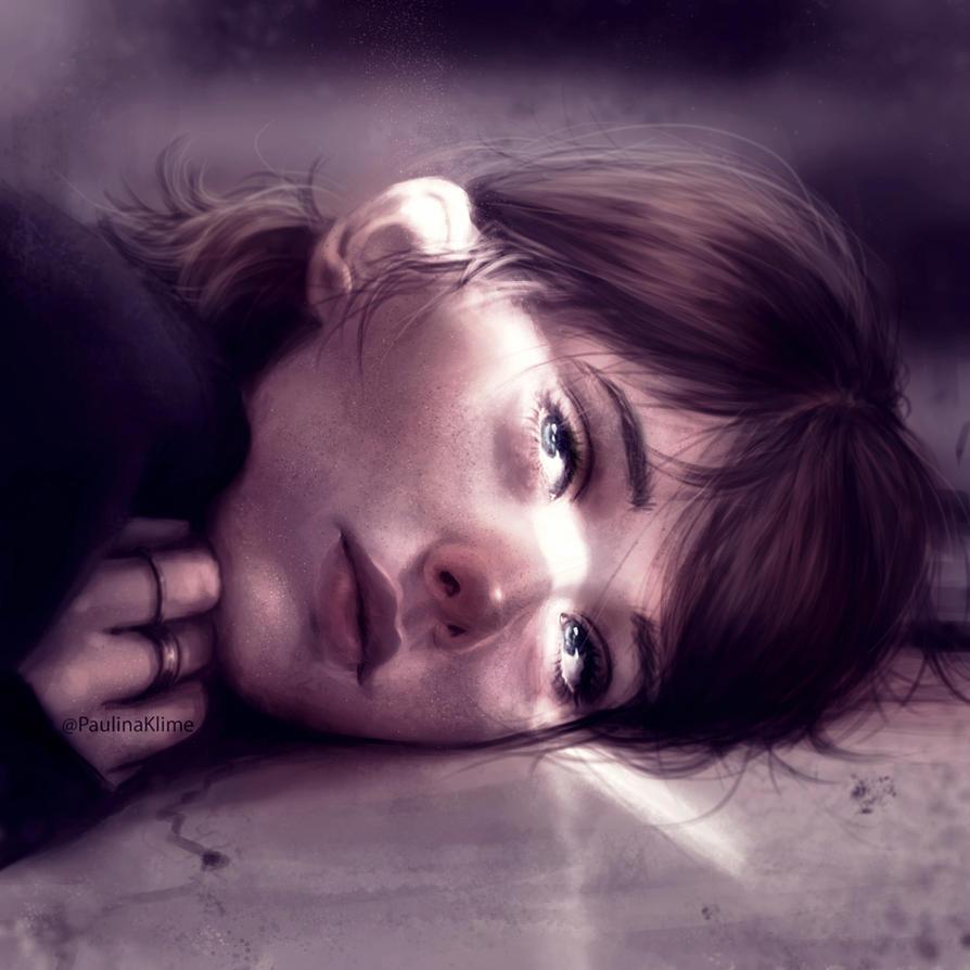 Lying by PaulinaKlime
