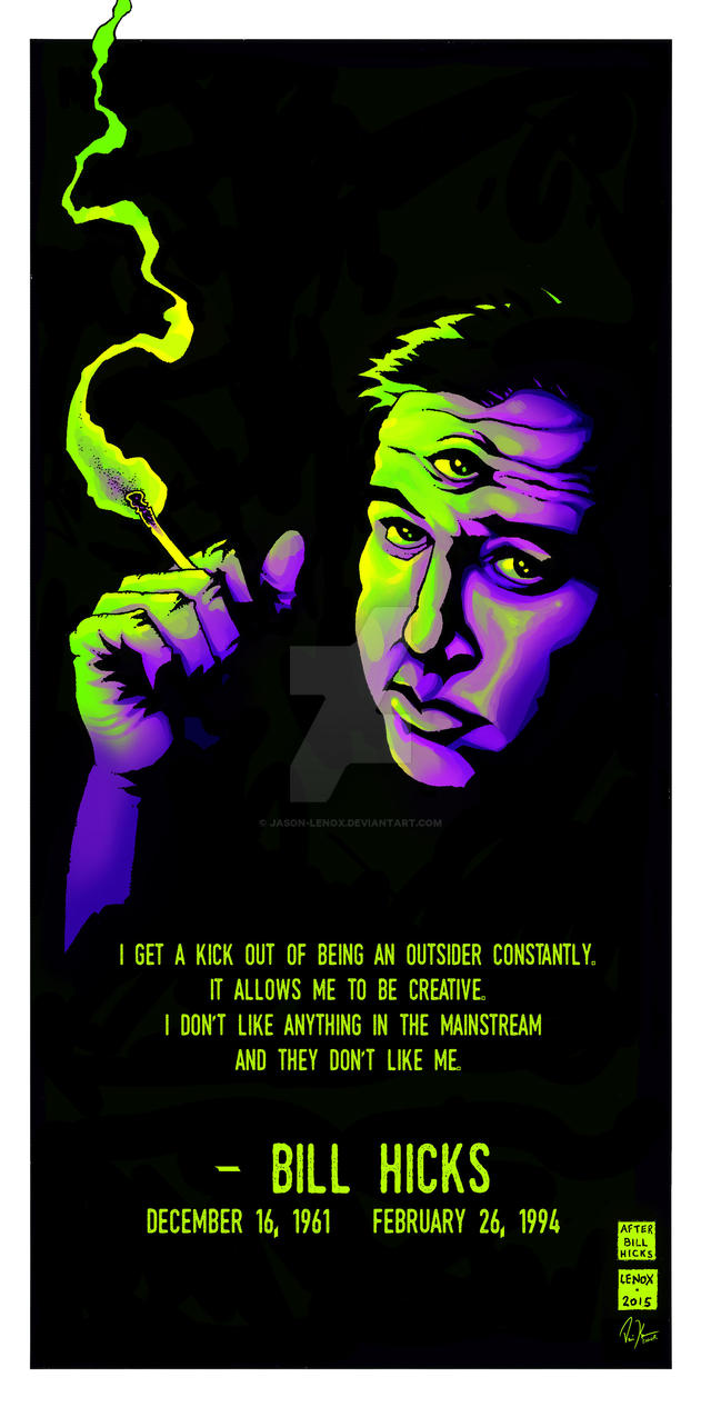 Jason Lenox 3rd Eye Bill Hicks by Jason-Lenox on DeviantArt