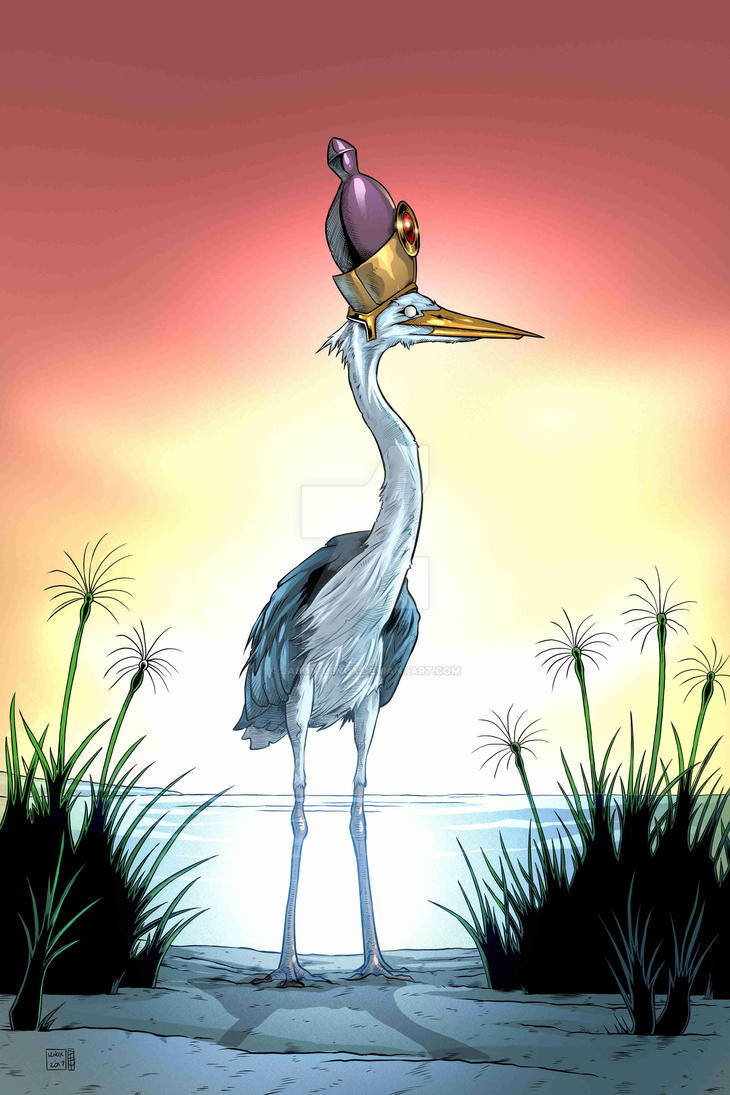 Bennu Bird by Jason-Lenox