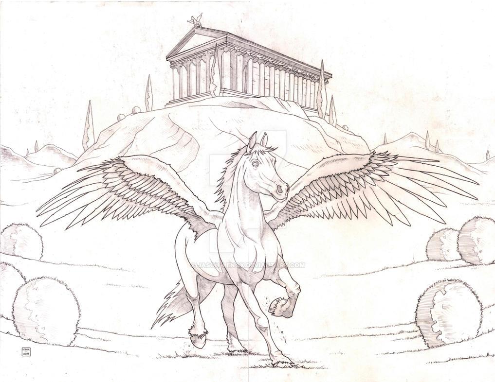 Pegasus by Jason-Lenox