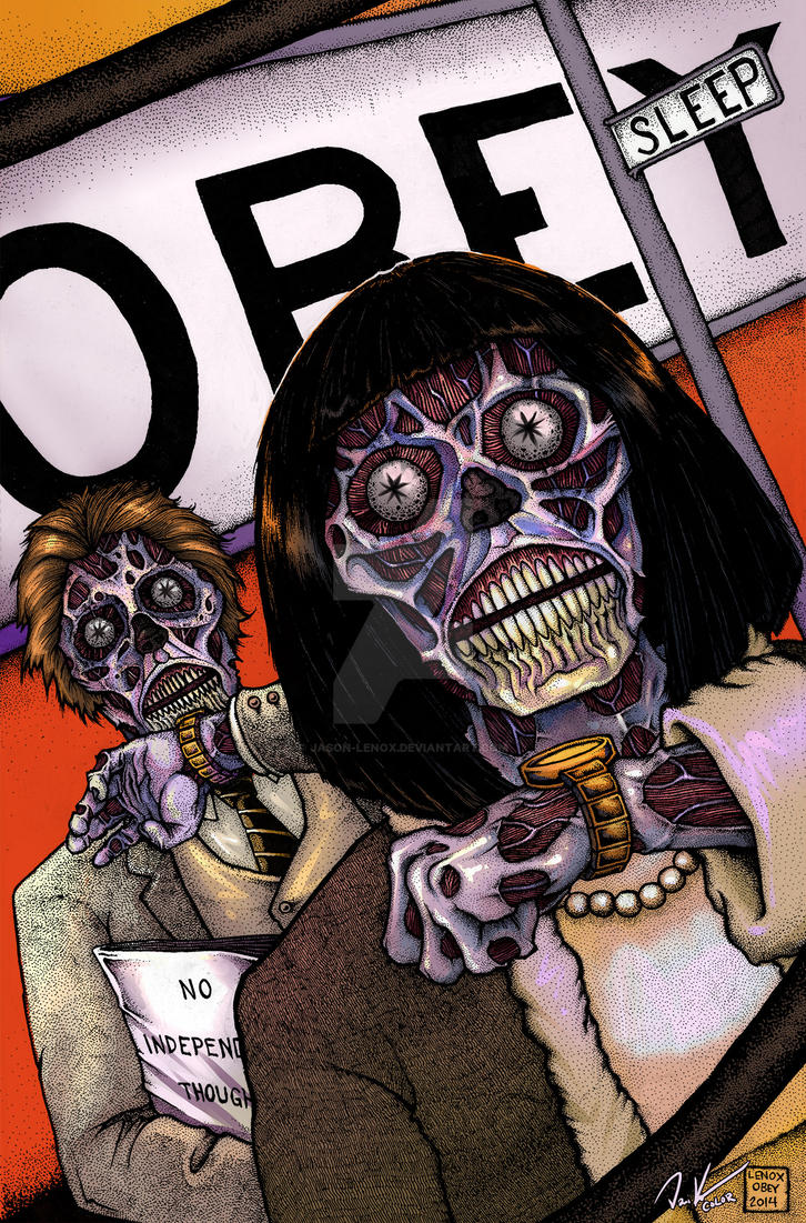 THEY LIVE full color by Jason-Lenox