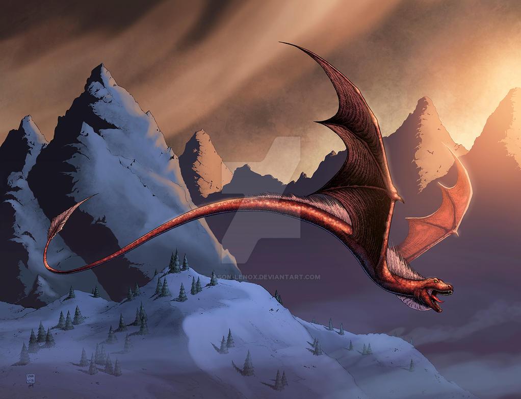 nidhogg dragon norse - 1022×781