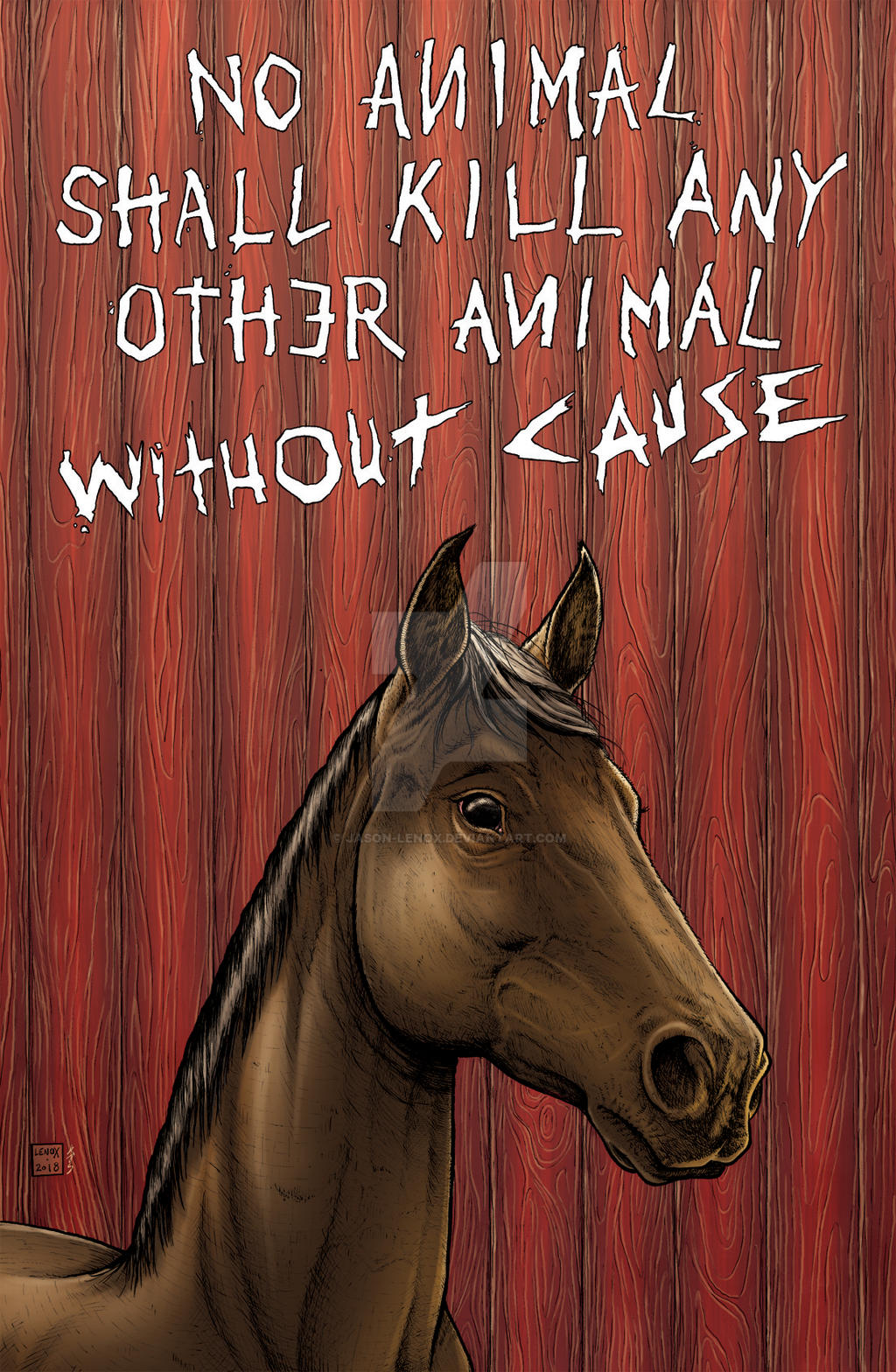 Animal Farm Boxer Final Colors By Jason Lenox On Deviantart