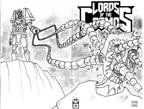 Lords of the Cosmos 3 Sketch Cover 3