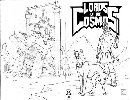 Lords of the Cosmos 3 Sketch Cover 4