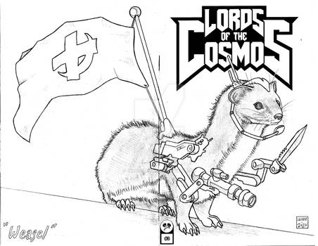 Lords of the Cosmos 3 Sketch Cover 6