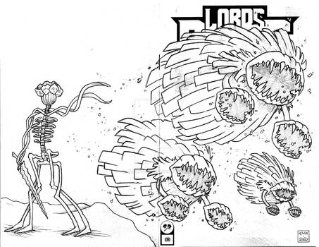 Lords of the Cosmos 3 Sketch Cover 8