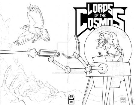 Lords of the Cosmos 3 Sketch Cover 10