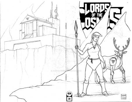 Lords of the Cosmos 3 Sketch Cover 12