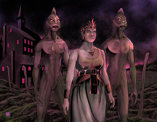 Priestess of Dagon at Innsmouth Colors