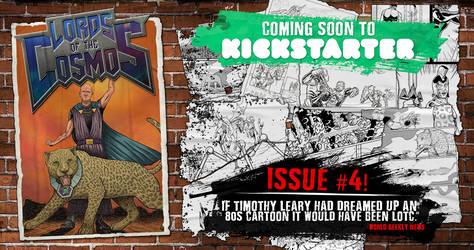 Lords of the Cosmos #4 Kickstarter