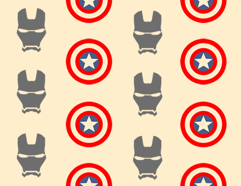 Captain America Civil War Roll Cake Design 3 by BlueStarLightCB