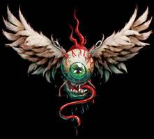 Hot Rod flying eyeball