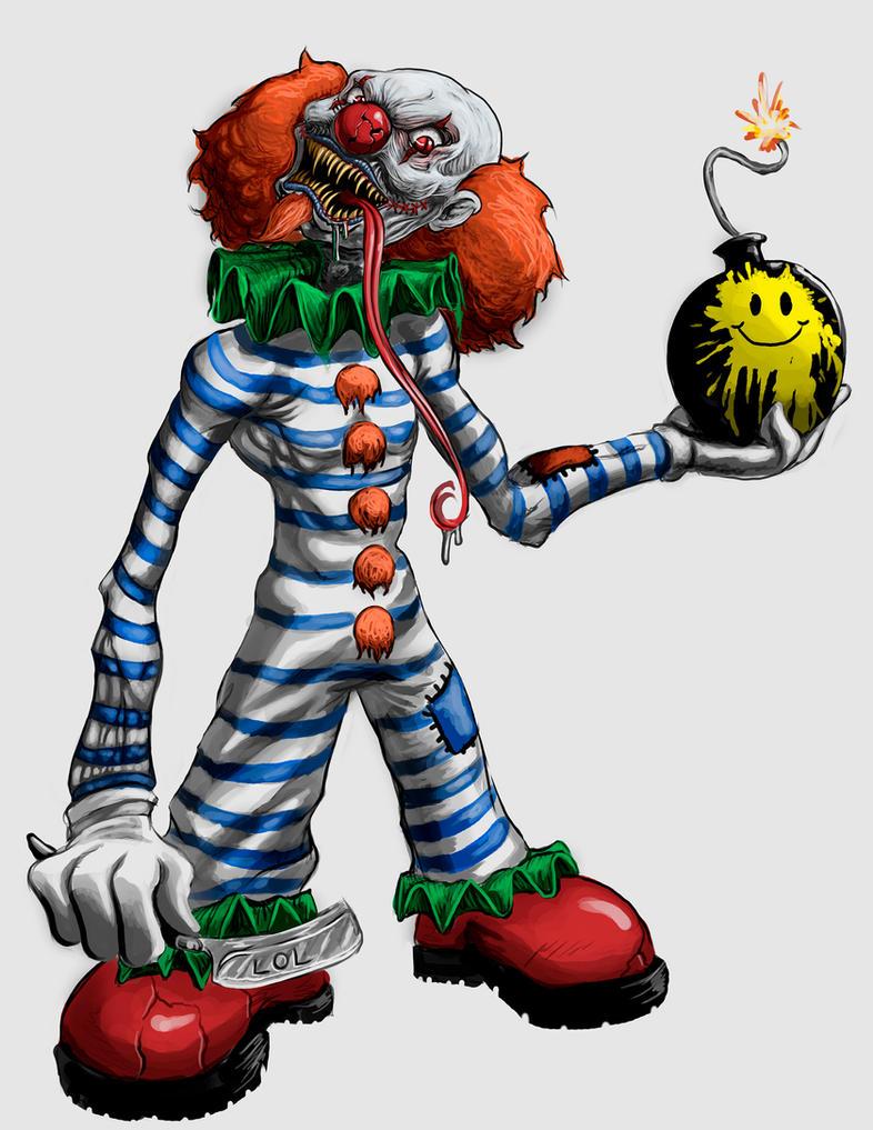 Evil Clown by BlackHawk45LC