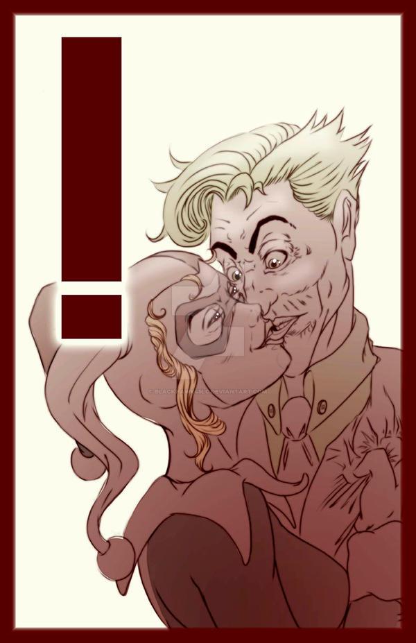 Harley Quinn + Joker by BlackHawk45LC
