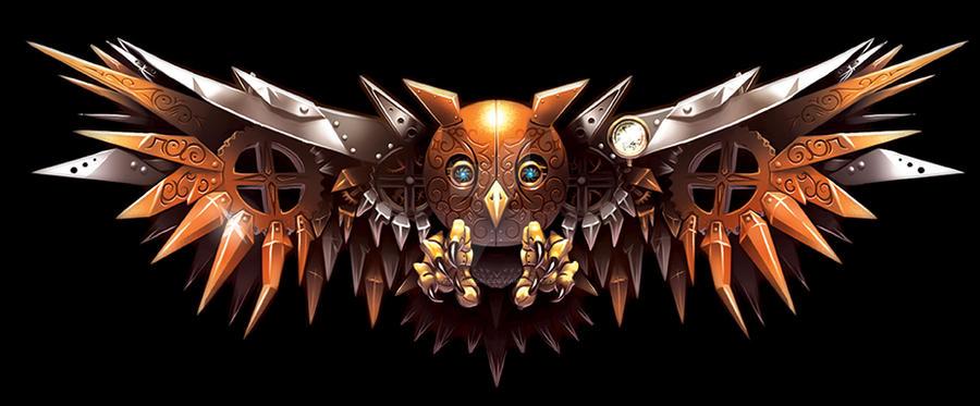 Clockwork Owl by BlackHawk45LC