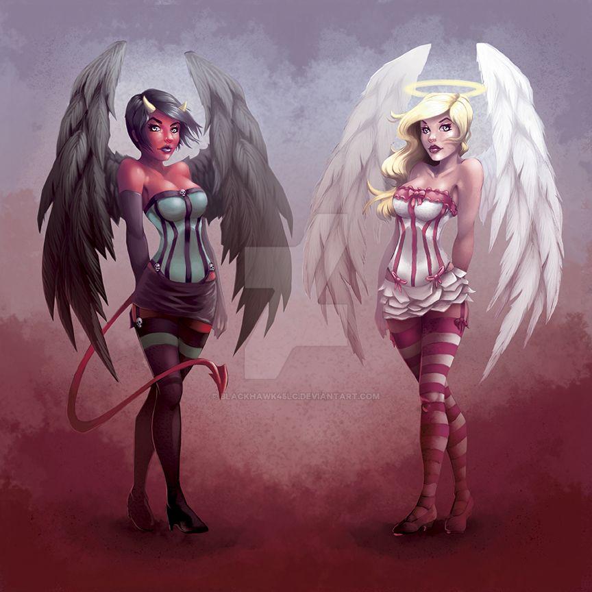 Devil-Angel by BlackHawk45LC