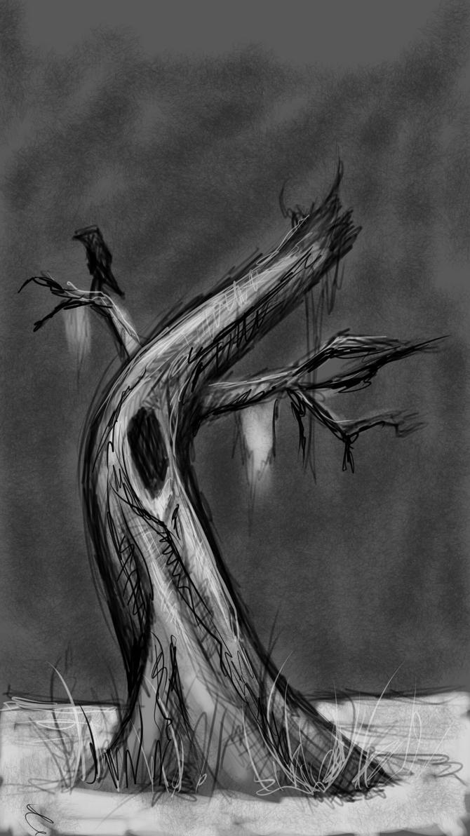 15 min aketch challenge tree on note by BlackHawk45LC