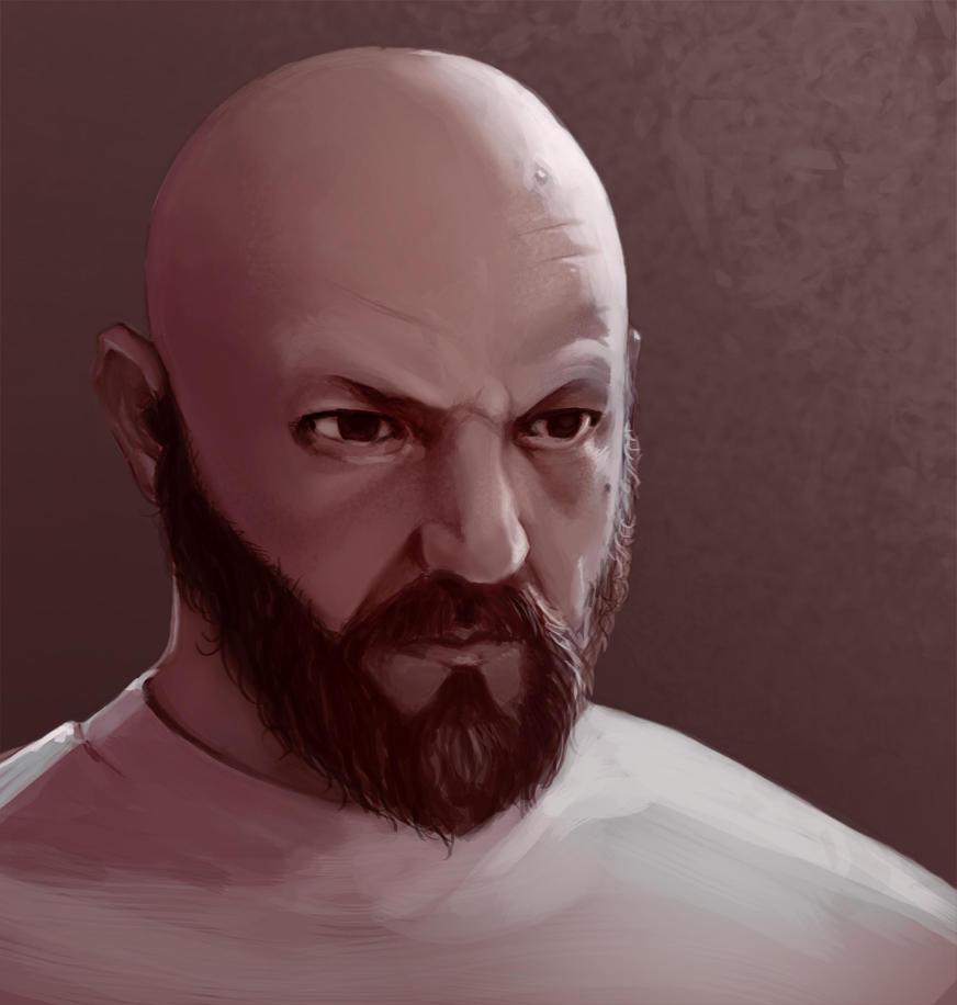Self Portrait by BlackHawk45LC