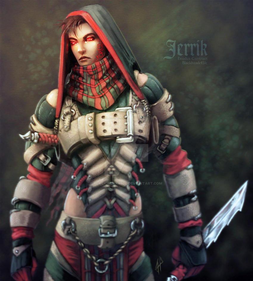 Jerrik OC  by BlackHawk45LC