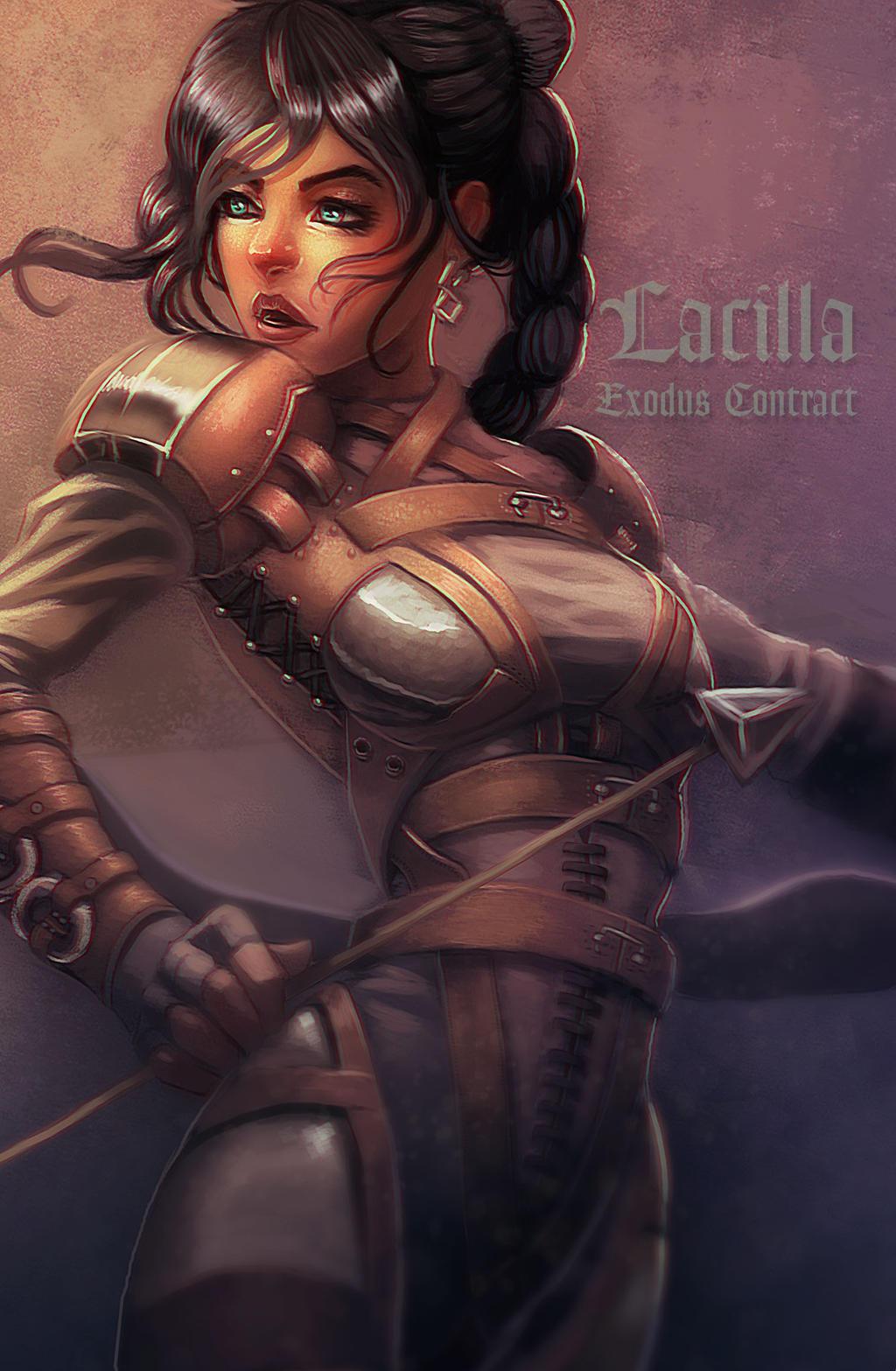 Lacilla-OC by BlackHawk45LC