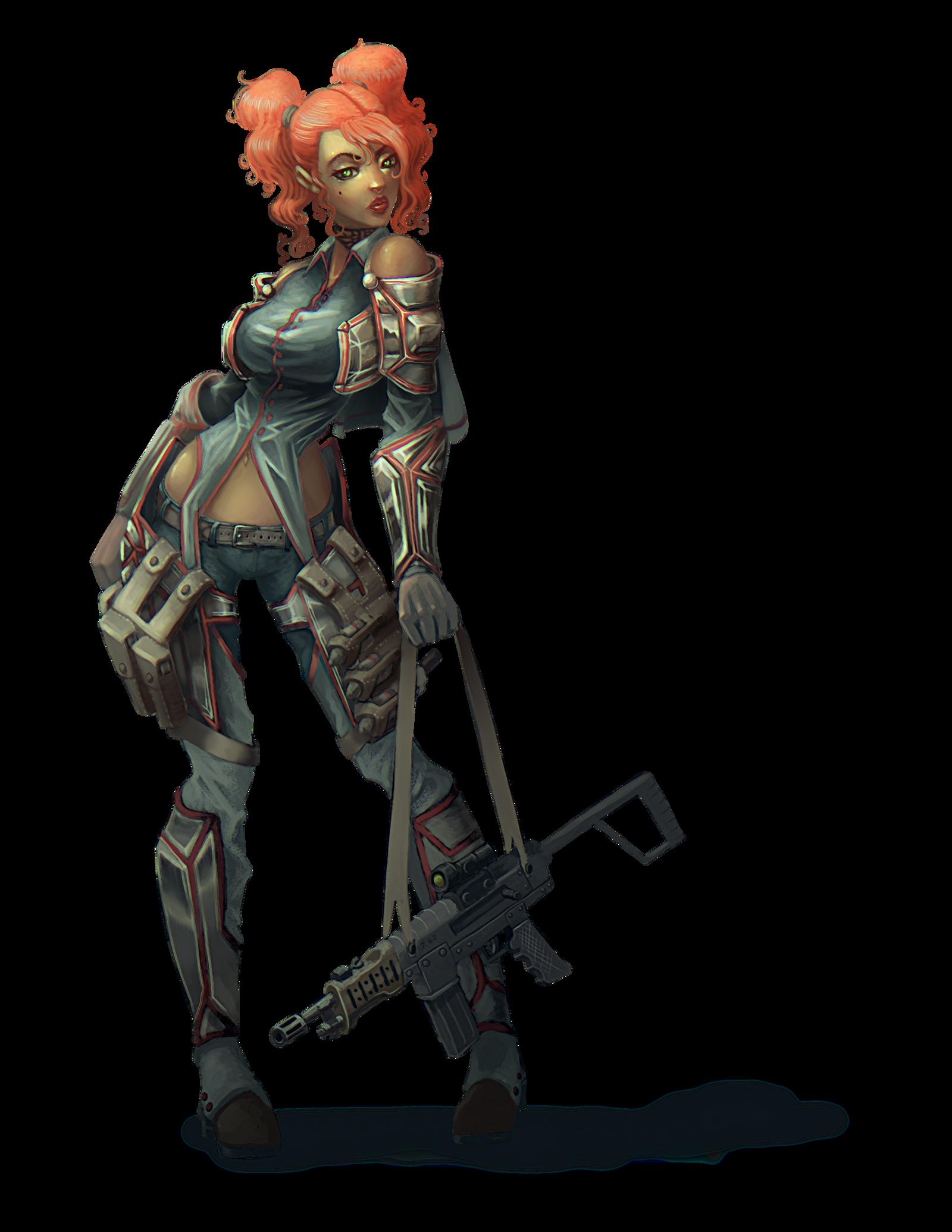 Valkyria Chronicles Fan art Rosie by BlackHawk45LC