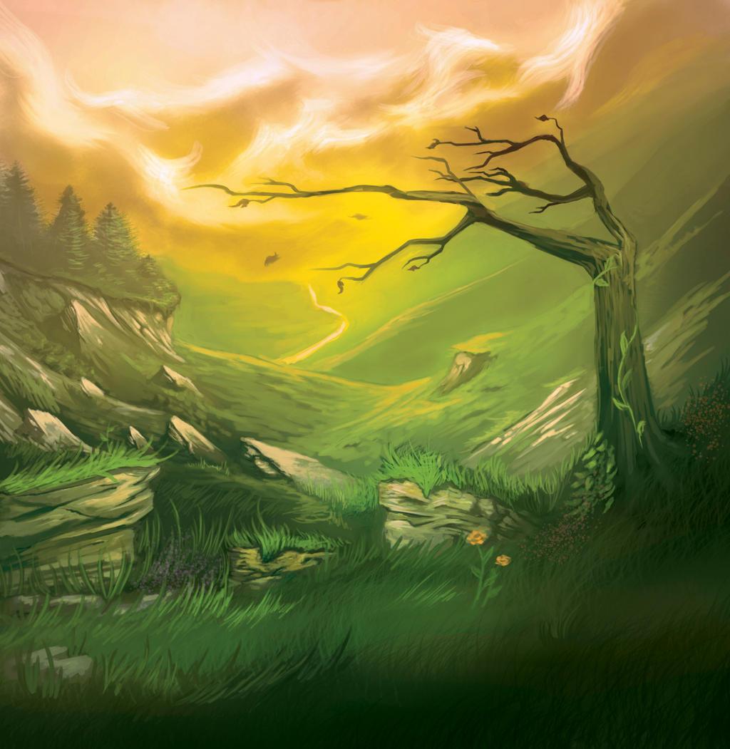 Landscape Practice by BlackHawk45LC