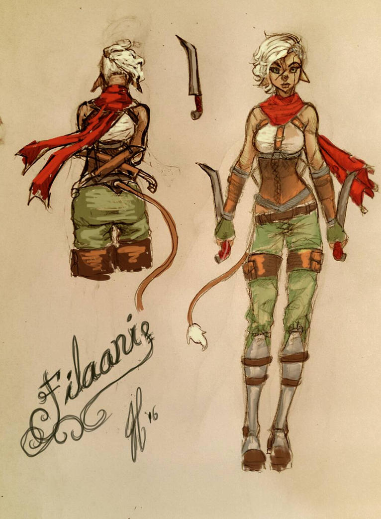 Filaani Doodle by BlackHawk45LC