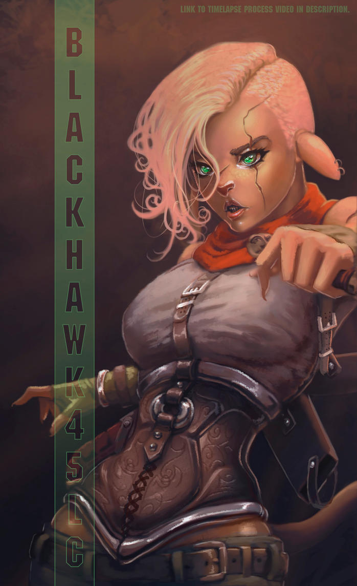 Filaani OC by BlackHawk45LC
